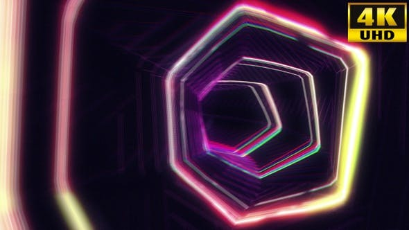 Thumbnail for Retro Tunnel Vj Loops V1