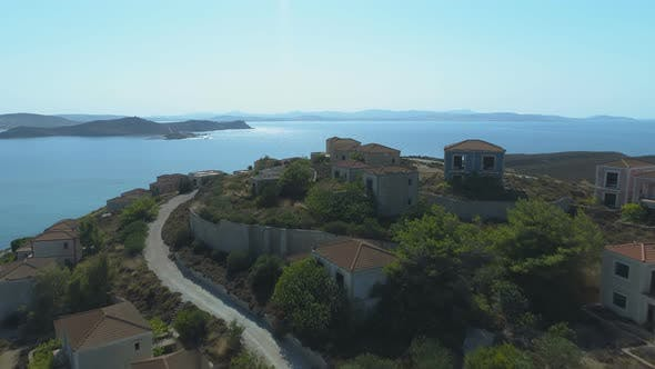 Thumbnail for Ghost Town at the Sea Shore in Greek Island Limnos