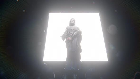 Jesus and Light Gate