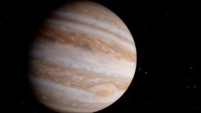 Planet Jupiter Rotation Timelapse