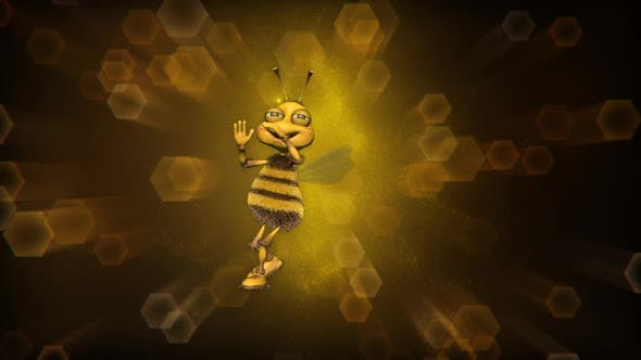 Bee Dance Opener  Looped with Background