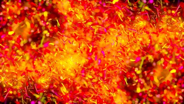 Abstract Particles Explosion V13