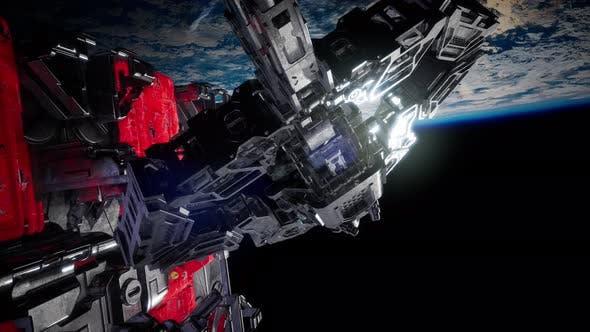 Thumbnail for Alien Spaceship Armada Nearing Earth