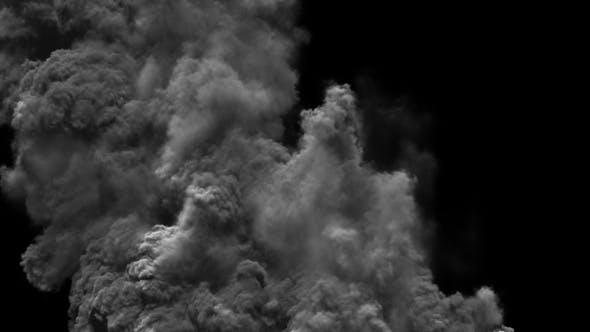 Heavy Smoke Emissions
