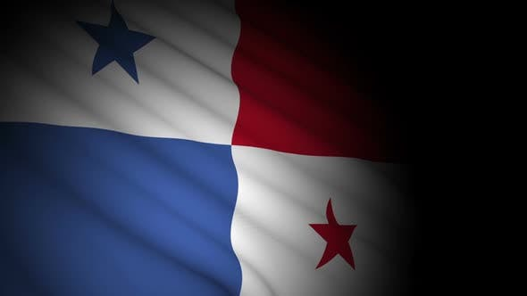 Thumbnail for Panama Flag Blowing in Wind