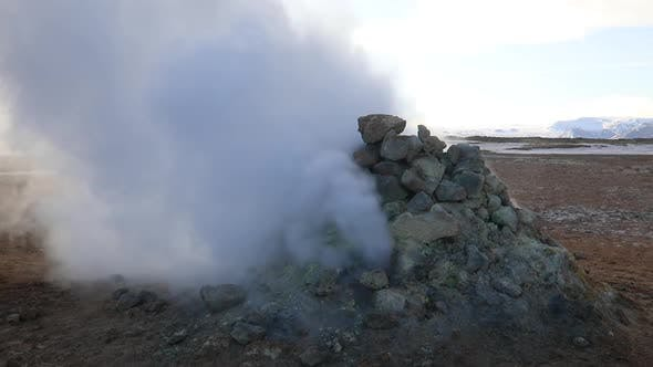Thumbnail for Namafjall Hverir Geothermal Area in Iceland