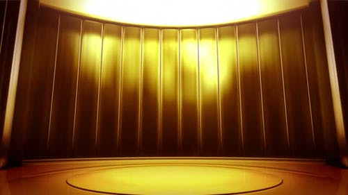 Curtain Gold Virtual Entertainment Studio Set