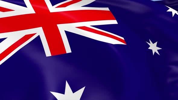 Thumbnail for Australien Flagge