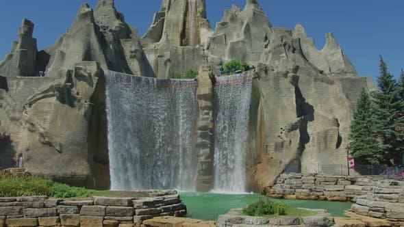 Waterfall at Canada's Wonderland