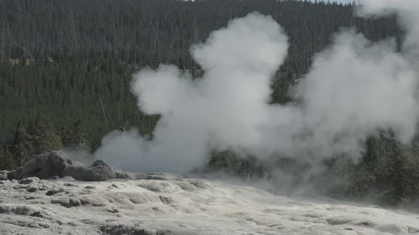Thumbnail for Steam vent in Yellowstone National Park