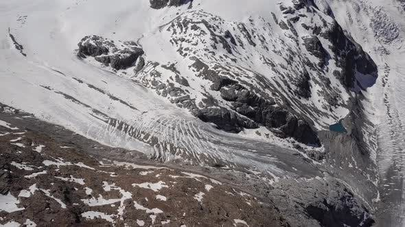 Thumbnail for Aerial View of Morteratsch Glacier, Switzerland