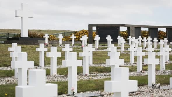 Cover Image for Darwin Cemetery in Malvinas (Argentine Military Cemetery, Falkland Islands).