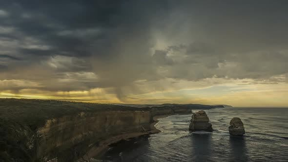 Thumbnail for Timelapse of rain in Australia