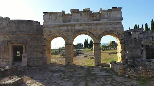 Ancient ruins of Hierapolis.