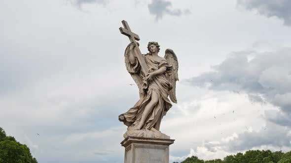 Cover Image for Angel in Rome Italy
