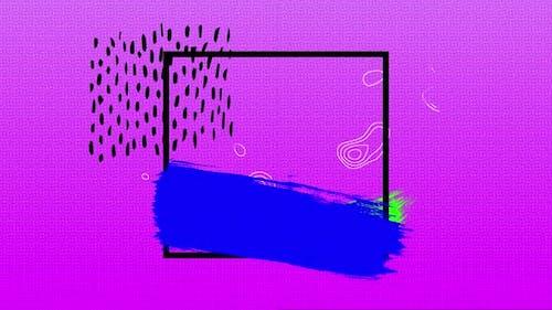 Animation im Retro-80er Jahre