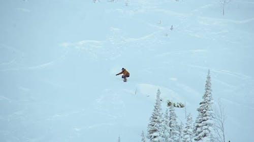 Risky Snowboarding