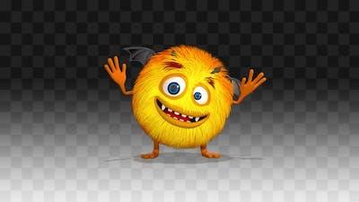 Monster Harry Happy Dance