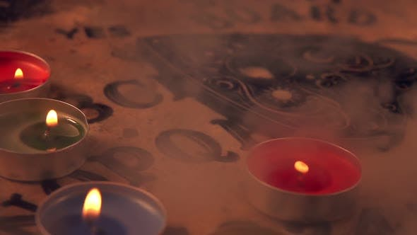 Thumbnail for Spiritual Game Ouija Board 2