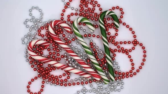 Thumbnail for Christmas candy cane caramels