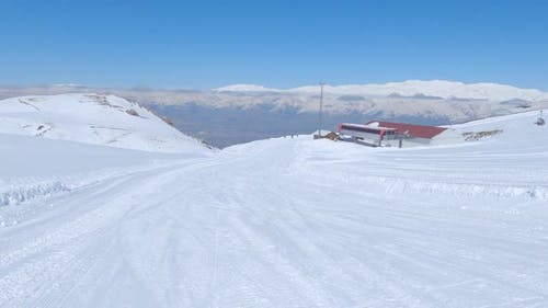 Ski Resort and lift