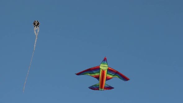 Thumbnail for Colorful Kite In The Sky