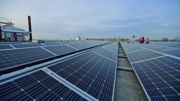 Thumbnail for Installation of solar panels
