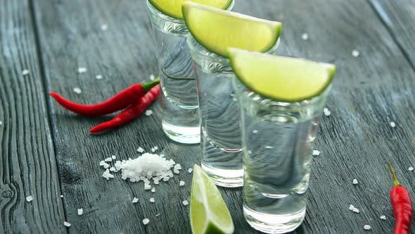 Thumbnail for Shot of Tequila with Salt and Lime