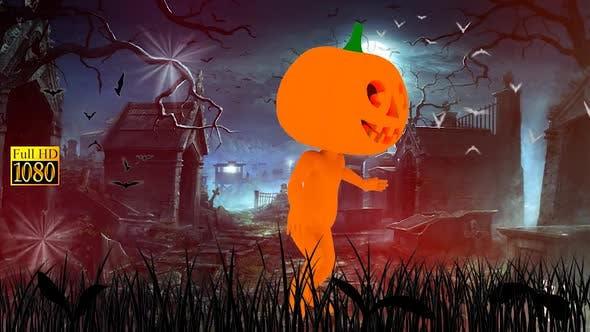 Halloween-Tanz-Friedhof
