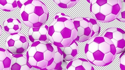 Soccer Ball Transition Ver 2 – Pink