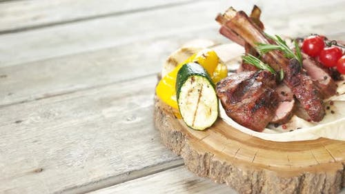 Barbecue Veal Ribs