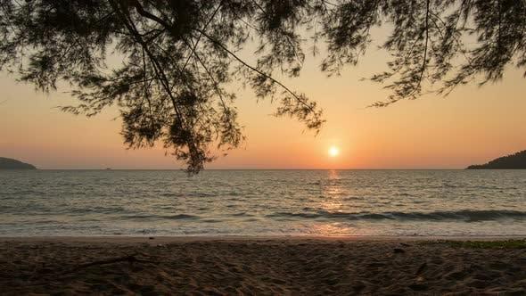 Seaside Sunset in 4K