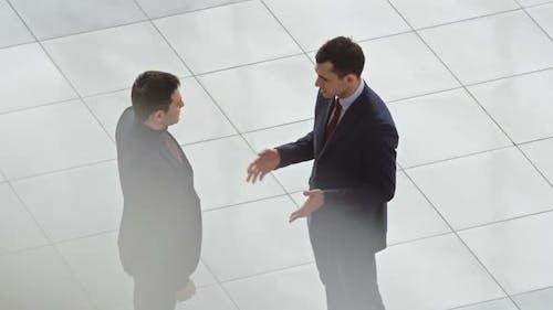 Treffen zur Diskussion der Zusammenarbeit