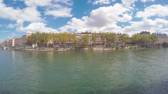 Thumbnail for Waterfront Of The City Of Lyon, France 2