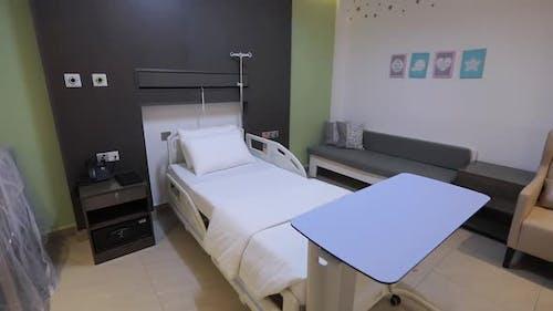 Rotating Around Hospital Bed