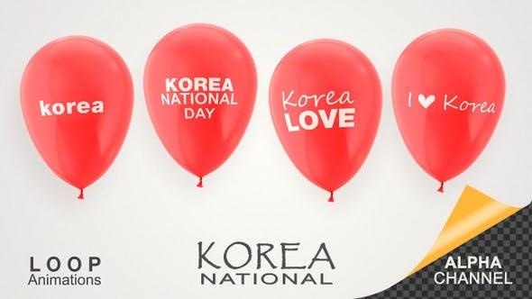 Thumbnail for Korea National Day Celebration Balloons