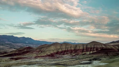 Painted Hills Sunset Time Lapse