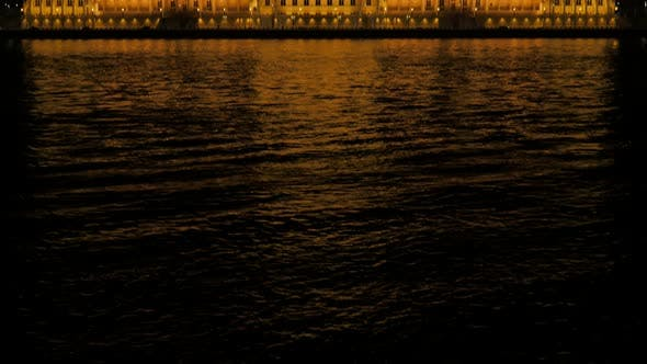 Thumbnail for Building of national parliament in Hungarian capital of Budapest and river Danube reflection 4K 2160