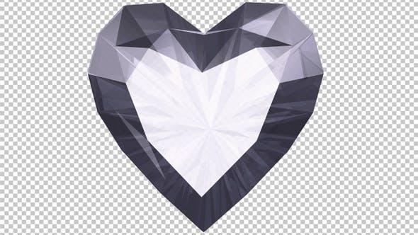 Thumbnail for Diamond Heart - Transparent Transition