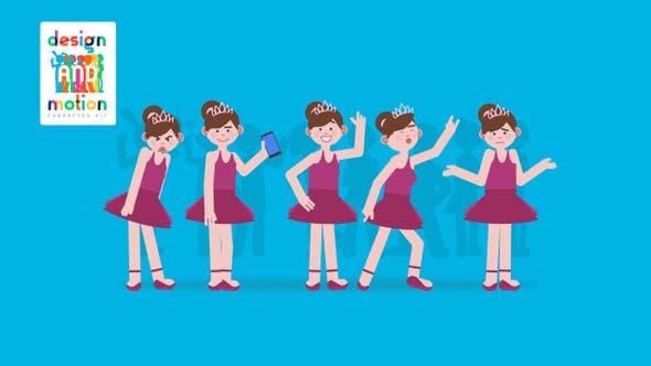 Thumbnail for D&M Character Kit: Ballet Dancer