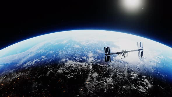 Thumbnail for Spacecraft Deploying Solar Panels