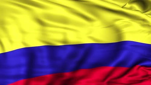 Kolumbien-Flagge