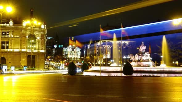Thumbnail for Night Traffic in Madrid