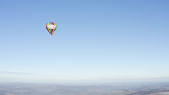 Ballon aus der Entfernung