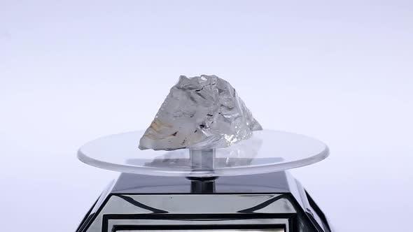 Thumbnail for Quartz Mineral Crystal Rotating