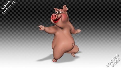 Comic Pig - Dance Greasy