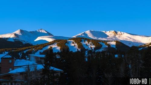 Sunrise Timelapse of Breckenridge Colorado Ski Mountain