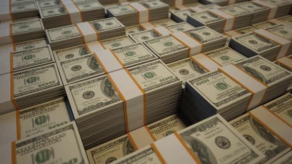 Thumbnail for Camera Flying Over Stacked Dollars V2