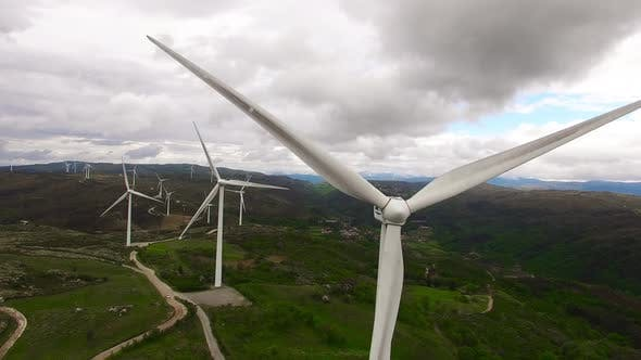 Thumbnail for Group Of Windmills For Renewable Electric