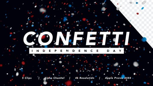 Confetti - Independence Day Edition